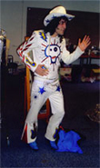 Vince's Embroidered Suit Mighty Boosh