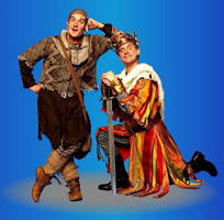 Dick and Dom in Spamalot