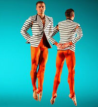 Striped Jackets For Michael Clark Dance Company